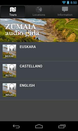 Zumaia Audio Gida