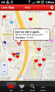 I Love - Love Map,Love locator- screenshot thumbnail