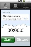 Screenshot of Multiple Stopwatch Timer