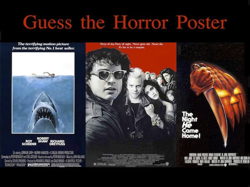 Guess the Horror Poster 2