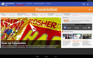 Screenshot of Zeitungskiosk