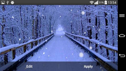 玩個人化App|冬  森 ライブ壁紙免費|APP試玩