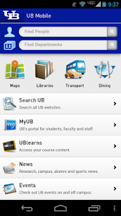 UB Mobile (Univ. at Buffalo) - screenshot thumbnail