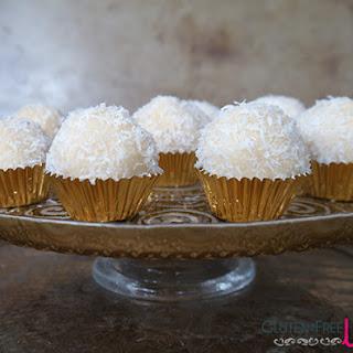 Raw Coconut Snowballs.