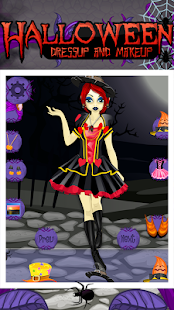Halloween Makeup and Dressup- screenshot thumbnail