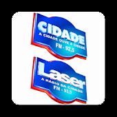 Rádio Laser 93,3   Cidade 92,5