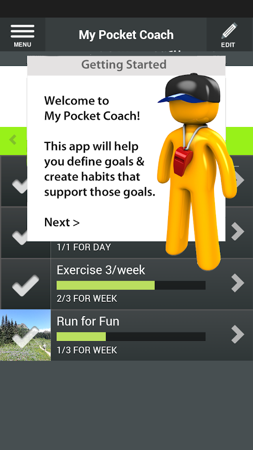 My Pocket Coach - screenshot