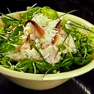 Fresh Crab and Pea Salad
