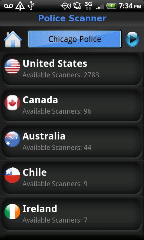 Police Scanner Screenshot 2