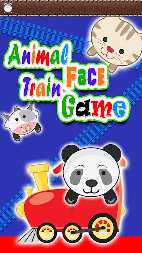 Animal Train for Kids Games