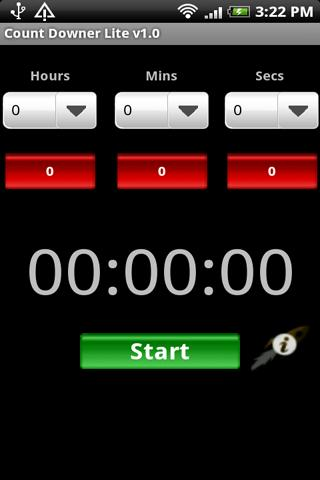 CountDowner Lite - Countdown - screenshot
