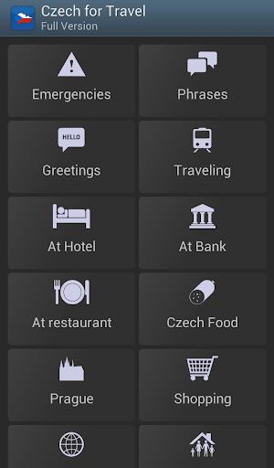 Czech for Travel