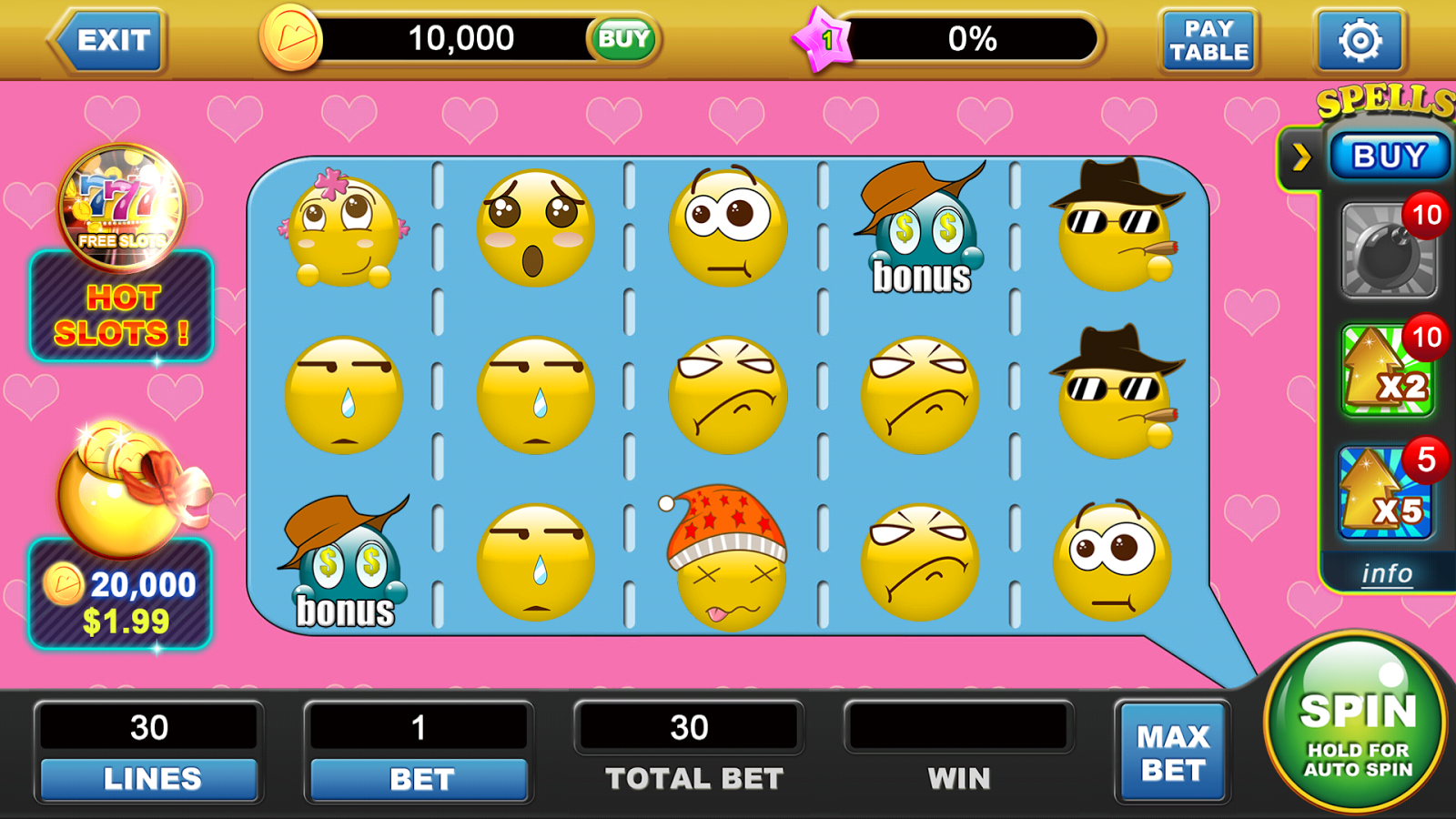 Emoji Slot Machine - Play the MrSlotty Casino Game for Free