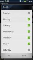 Screenshot of Bugle Alarm