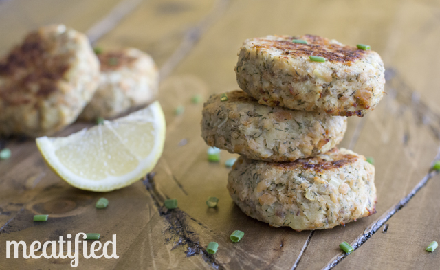 Baked Parsnip Salmon Cakes Recipe