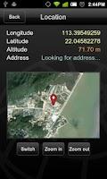Screenshot of GPS Locator