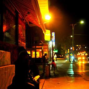 Chinatown smoker by David Chu - City,  Street & Park  Neighborhoods ( @chinatwonbia @go4david @chu @toronto @2013 @2014 @cbc )