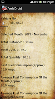 Screenshot of VehiDroid - Vehicle Management