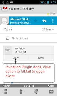 Invitation Plugin - screenshot thumbnail