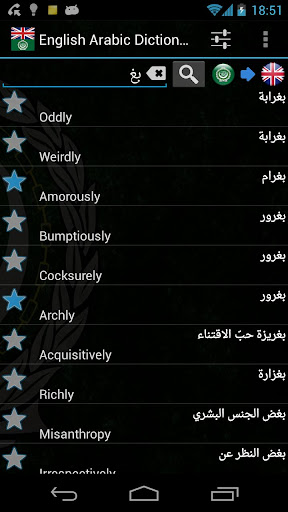 Offline English Arabic Dict.