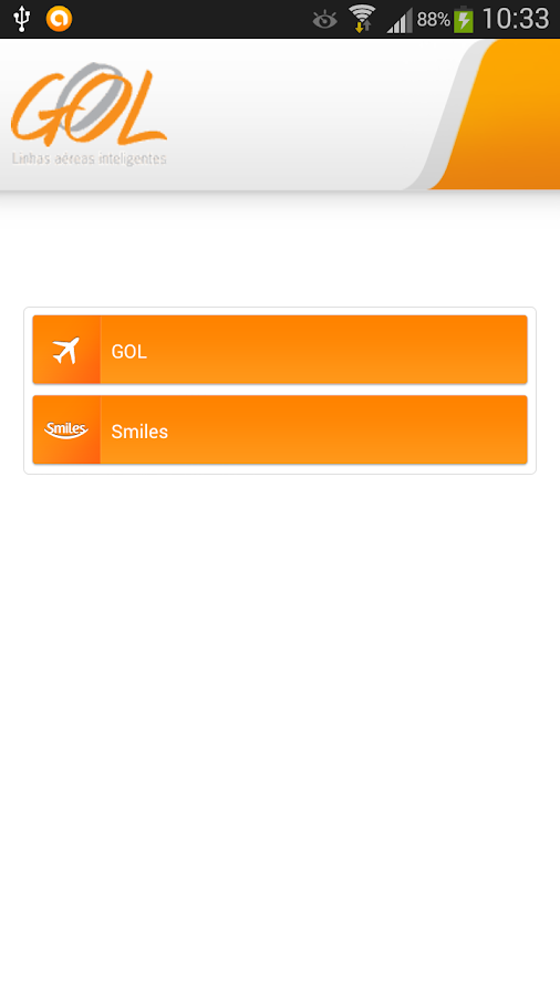 GOL - Check-in e Antecipar Voo - screenshot