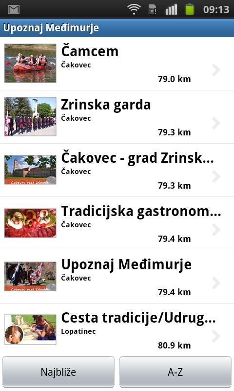 AdriaGUIDE Međimurje- screenshot