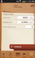 Screenshot of winbank ΛσΛ
