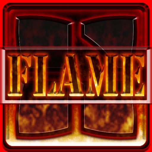 NEXT LAUNCHER 3D THEME FLAME