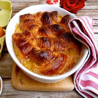 Caramel Croissant Pudding.