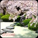 Zen Garden -Spring- LWallpaper logo