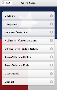 Texas Veterans App - screenshot thumbnail