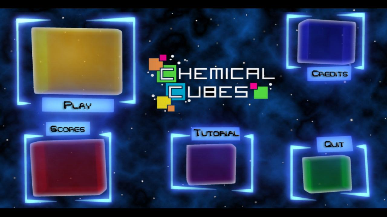 Chemical Cubes - screenshot