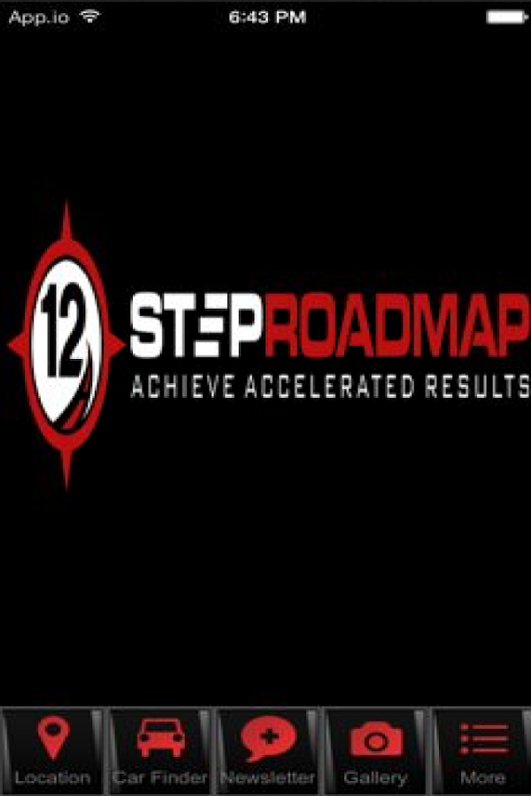 12 Step Road Map- screenshot
