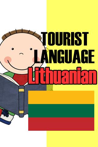 Tourist language Lithuanian