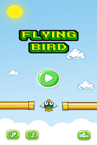 FlyingBird Dont Touch Pipe