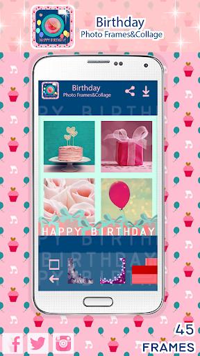 生日相框和拼貼