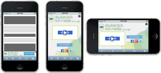 Html5 mobile adhesion doubleclick creative solutions help for Doubleclick rich media templates