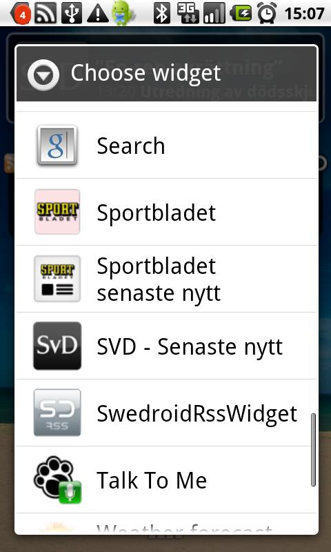 Top news from svd.se - screenshot