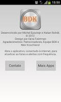 Screenshot of BDK - Beit Din Kashrut Brasil