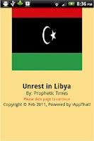 Screenshot of Unrest In Libya