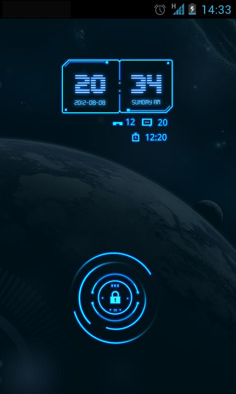 Future GO Locker Reward Theme - screenshot