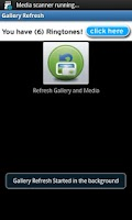 Screenshot of Gallery Refresh