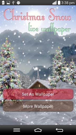 Christmas Snow Live Wallpapers