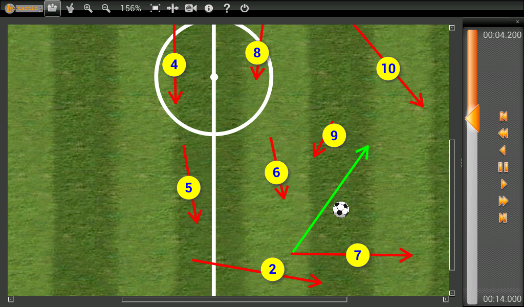In-Tactic Player- screenshot