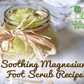 Soothing Magnesium Foot Scrub.