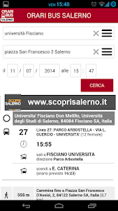 Orari Bus Salerno screenshot 1
