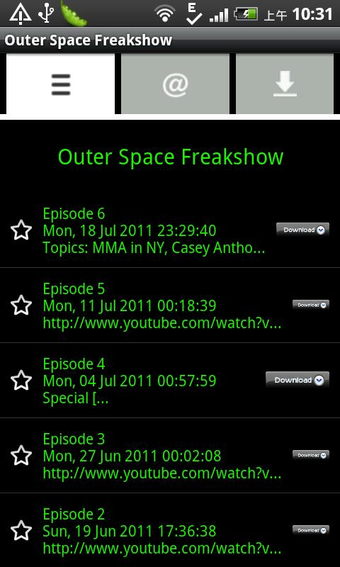 Outer Space Freakshow- screenshot