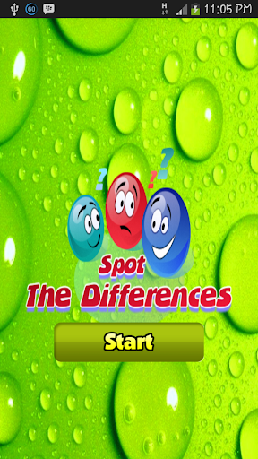 Spot the Differences Game