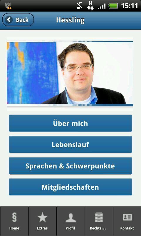 Anwaltsbüro Hessling- screenshot
