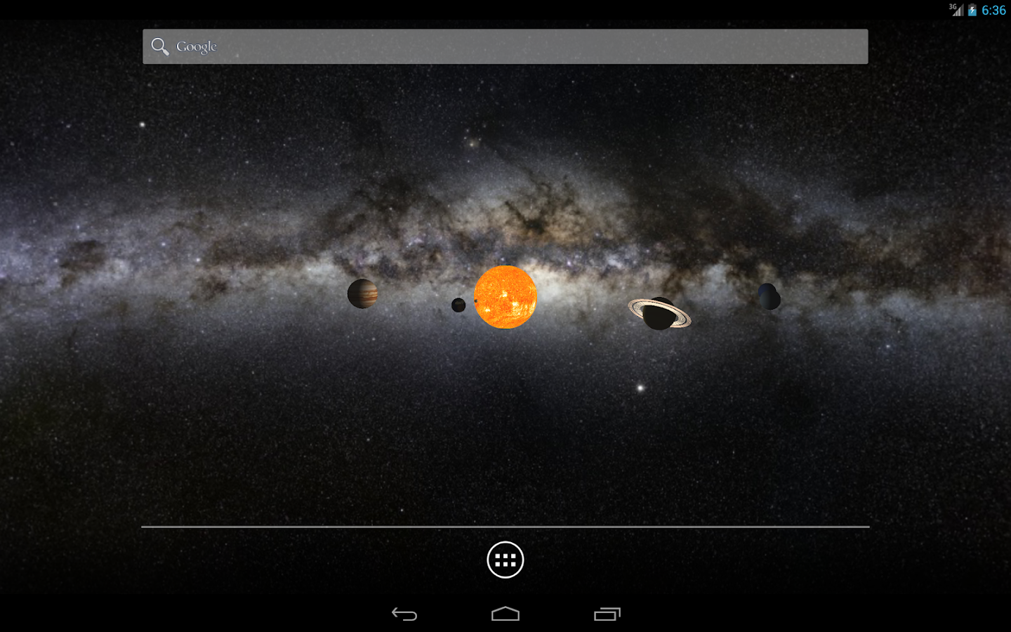 Solar System 3D LWP Free - Android Apps on Google Play